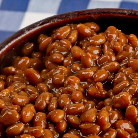 Crock Pot Vegetarian Baked Beans
