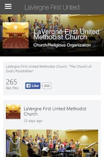 LaVergne First UMC - screenshot