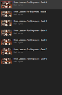 Drum Lessons For Beginners - screenshot