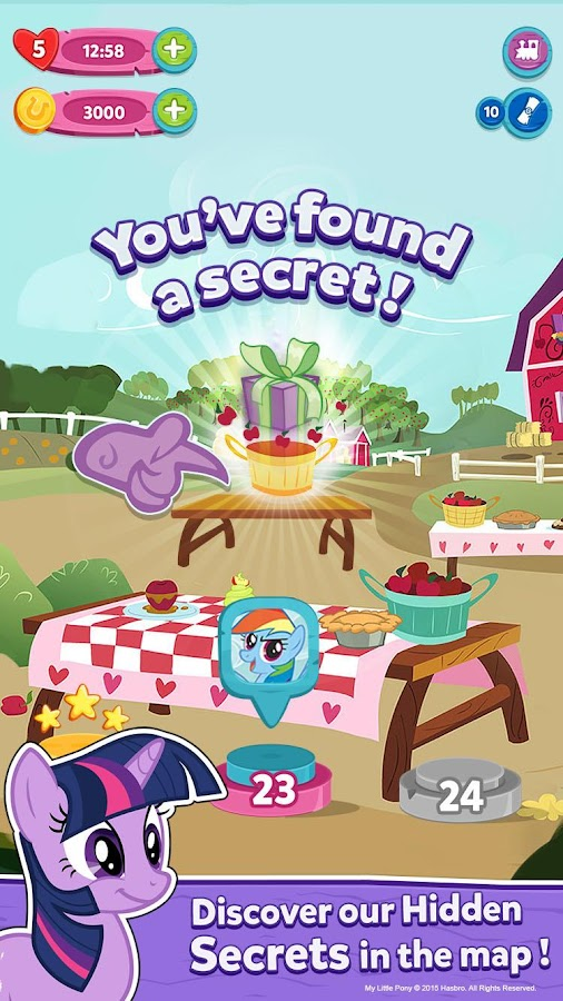 My Little Pony: Puzzle Party Screenshot 4