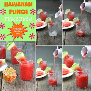 Watermelon Strawberry Punch