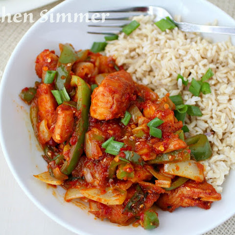 Thai Chili Chicken Stir Fry
