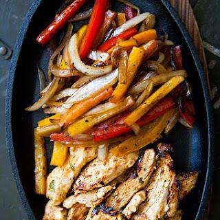 Not Spicy Sauce Chicken Fajita Recipes