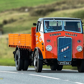 E.R.F. COMBS VALLEY  by Roger Beverley - Transportation Other ( truck rally, old trucks, erf, classic trucks, derbyshire )