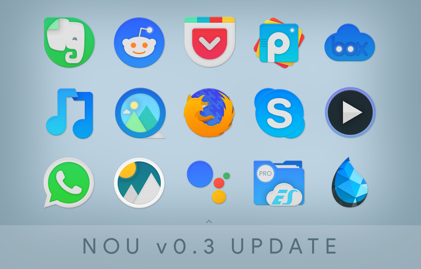NOU - Icon Pack Screenshot 7