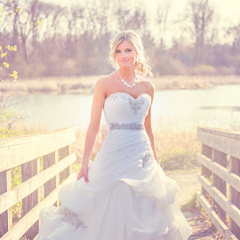 Sun kissed bride by Shelley Vinson - Wedding Bride (  )