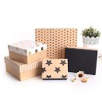 Handmade Luxury Gold Foil Stamped Wedding Dress Packaging Box Custom Cheap Long Cardboard Jewellery Gift Box