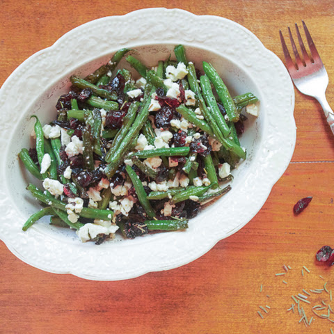 Cranberry & Feta Green Beans