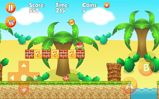 Super Jungle World of Mario - screenshot