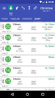 Screenshot of Breastfeeding - Baby Tracker