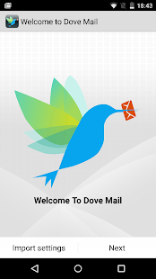 Dove Mail - screenshot