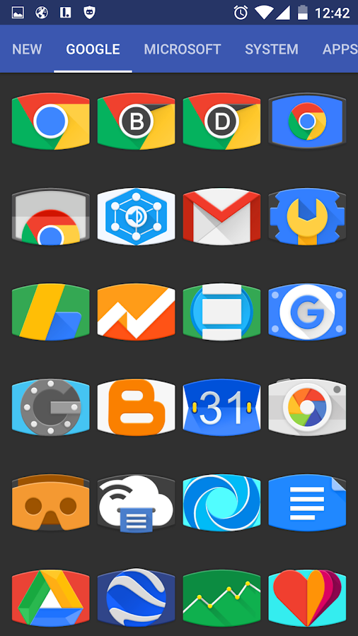 Panorama Material Icon Pack Screenshot 12