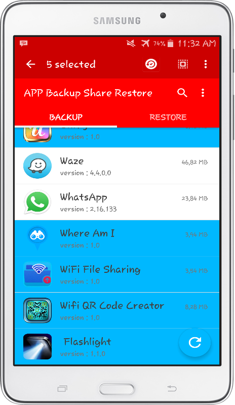 APP Backup Share Restore PRO Screenshot 10