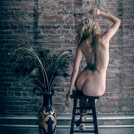 by James Wayne - Nudes & Boudoir Artistic Nude ( studio, implied nude, nude, portraits of women, modeling, art, bodysculpture, artistic nude, implied )