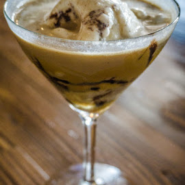 Ice Cream Martini by Laurie Crosson - Food & Drink Alcohol & Drinks ( ice cream vodka, adult ice cream, browndog creamery, martini, ice cream martini )