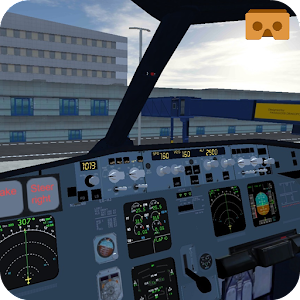 Virtual reality flight simulator 2020