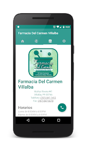 Farmacia Del Carmen Villalba - screenshot