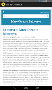 Mare Otranto - screenshot