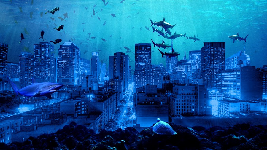 Under Sea City by Tanbir Hasan - Print & Graphics All Print & Graphics (  )
