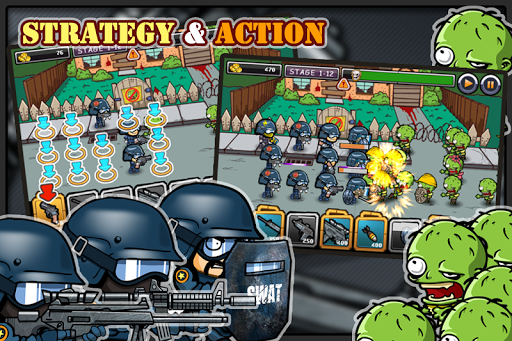 SWAT and Zombies - screenshot
