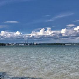 Braviken by Alf Winnaess - Landscapes Cloud Formations