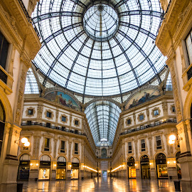Milan - Gallery Vittorio Emanuele II by Charles Ong - Buildings & Architecture Public & Historical