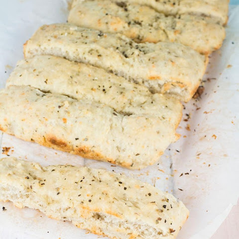 Soft Dipping Bread Sticks