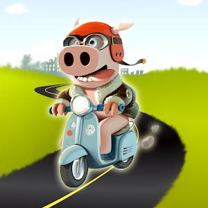Pig Rush : Tiny Happy Pepa For PC (Windows & MAC)