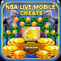 Cheats For NBA Live Mobile [ 2017 ] - prank