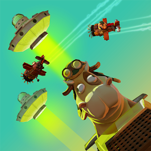 Space Rustlers: VR Flying Game for Android