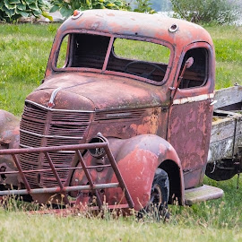Rustic Red by Robert George - Transportation Automobiles