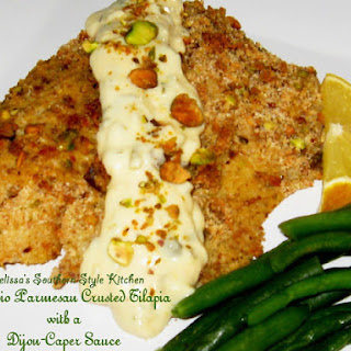 Parmesan Crusted Tilapia With Sauce Recipes