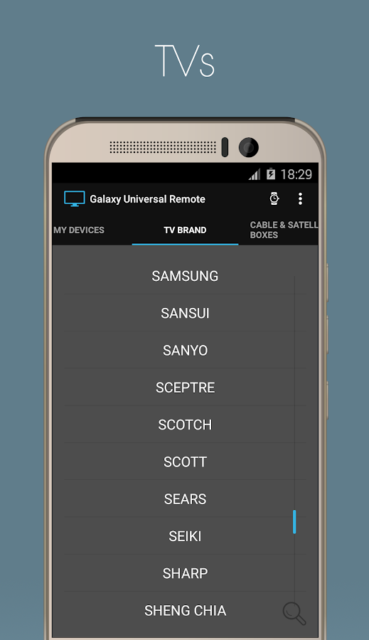 Galaxy Universal Remote Screenshot 2
