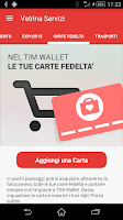 Screenshot of TIM Wallet