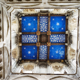 Wimborne Minster Ceiling by Paul Milligan - Buildings & Architecture Other Interior ( interior, ceiling, inside, architectural detail, historic,  )