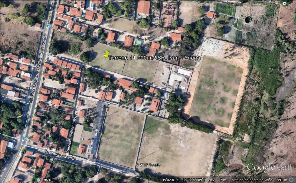 Terreno à venda, 11000 m² por R$ 5.000.000 - Lagoa Redonda - Fortaleza/CE