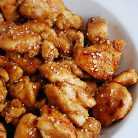 Light Sesame Chicken