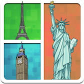 Guess What's The Place? - Geographic Quiz APK Icon