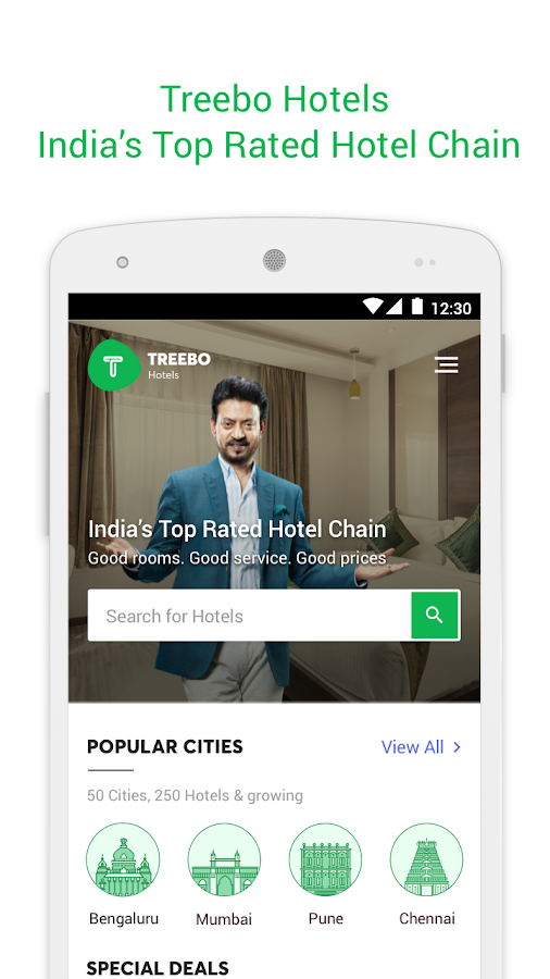 Treebo – Hotel Booking App Screenshot