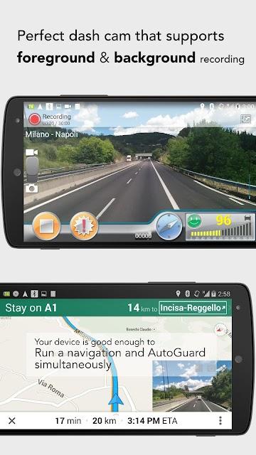AutoGuard Dash Cam - Blackbox screenshots