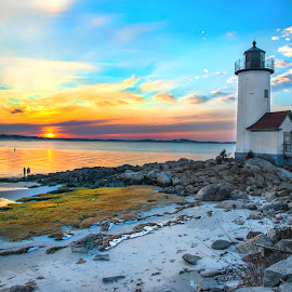 Lighthouse by Cody Arrington - Landscapes Beaches ( raw, lighthouse, beach, landscape, nauticaladventure, nautical )