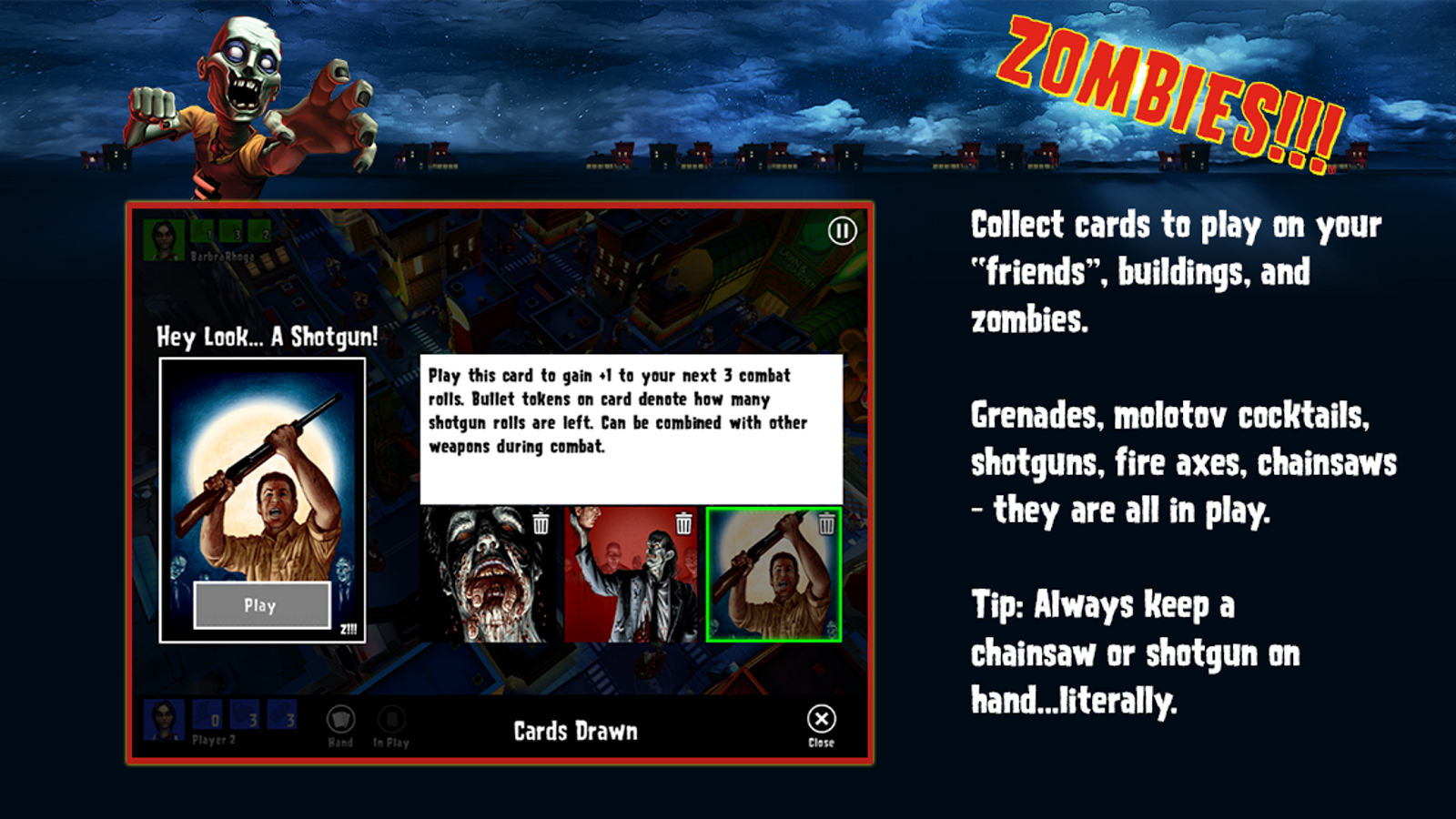 Zombies!!! ® Board Game Screenshot 8