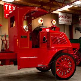 Mack by Shirley Warner - Transportation Automobiles ( red, truck, mack, usa )
