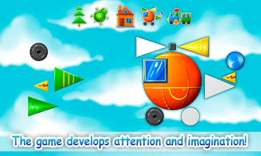 Learn Shapes for Kids, Toddlers - Educational Game