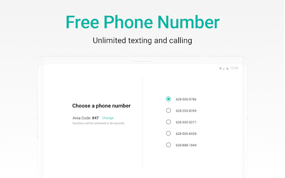 2ndLine - US Phone Number APK screenshot thumbnail 6