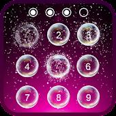 Lock screen bubbles