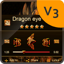 Dragon eye PlayerPro Skin