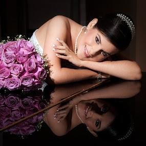 by Carlos Castro - Wedding Bride