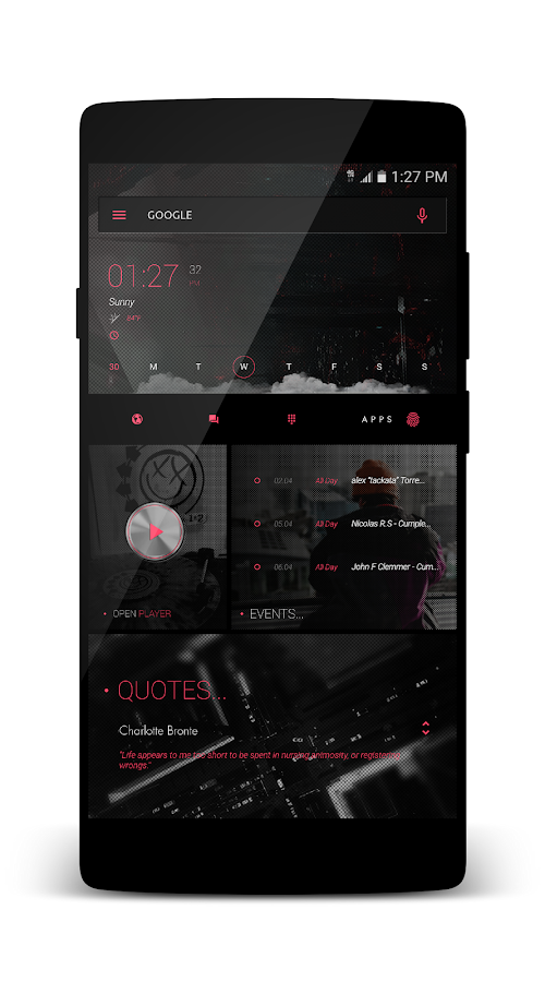 coLLLage for KLWP Screenshot 6
