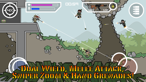 Doodle Army 2 : Mini Militia screenshot 7